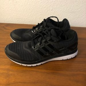 ADIDAS Cloudfoam Black Lightweight Sneaker